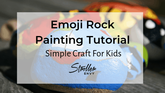 Emoji Rock Painting Tutorial