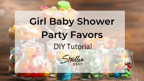 DIY Girl Baby Shower Party Favors