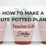 HOW TO MAKE A CUTE POTTED PLANT