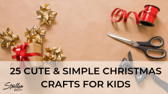 25 Cute & Simple Christmas Crafts For kids