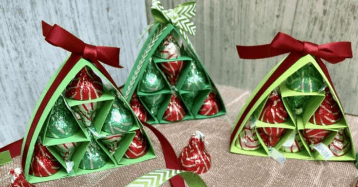 Hershey Kisses Christmas Tree Tutorial