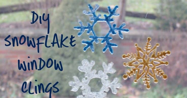 How to Make Window Clings: an easy craft for all ages