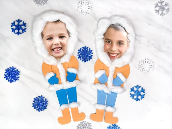 Make This Photo Eskimo Craft For Kids This Winter Season