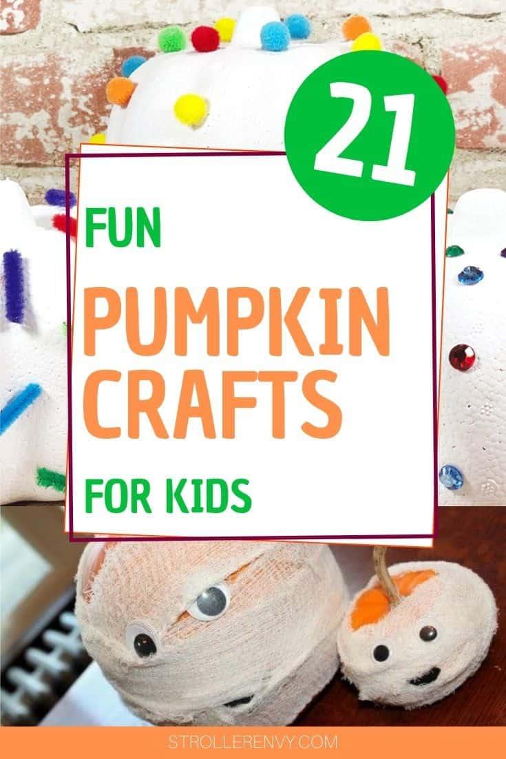 21 fun pumpkin crafts for kids