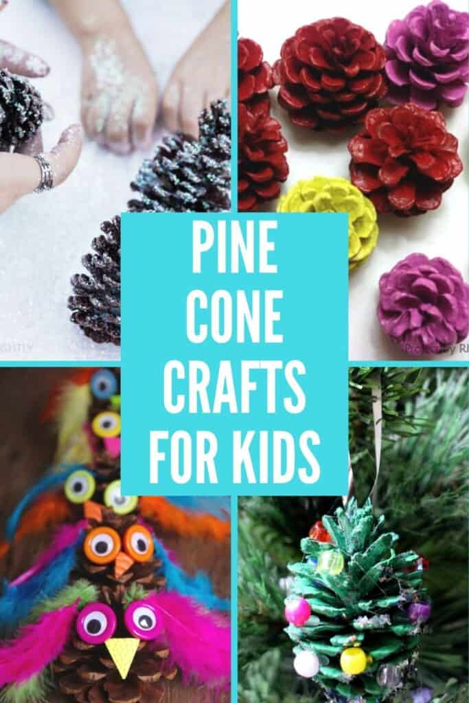 20 easy pine cone crafts for kids