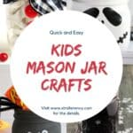 kids mason jar crafts
