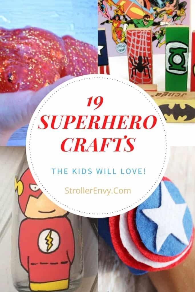 19 superhero crafts