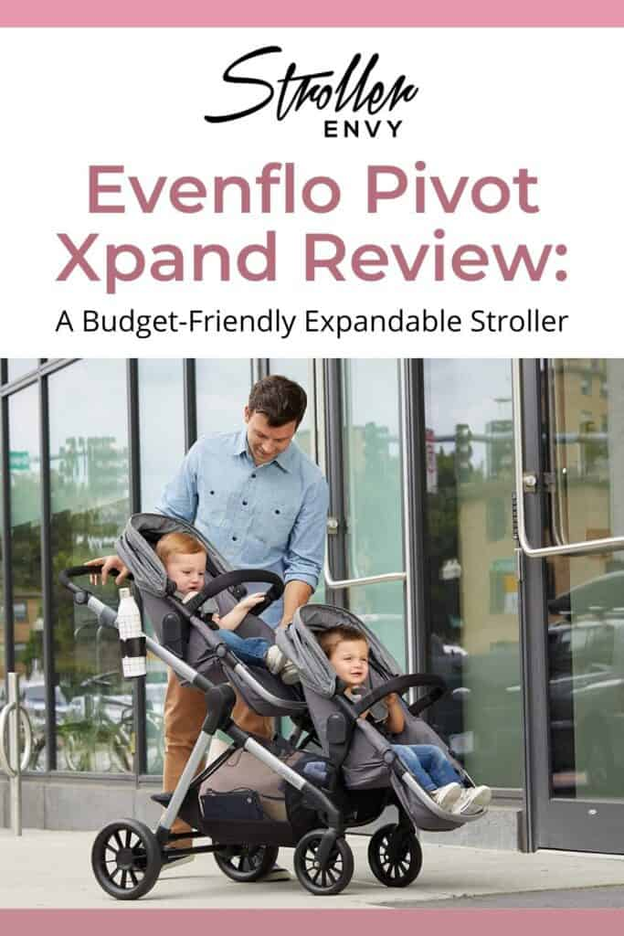 Evenflo Pivot Xpand Stroller Review