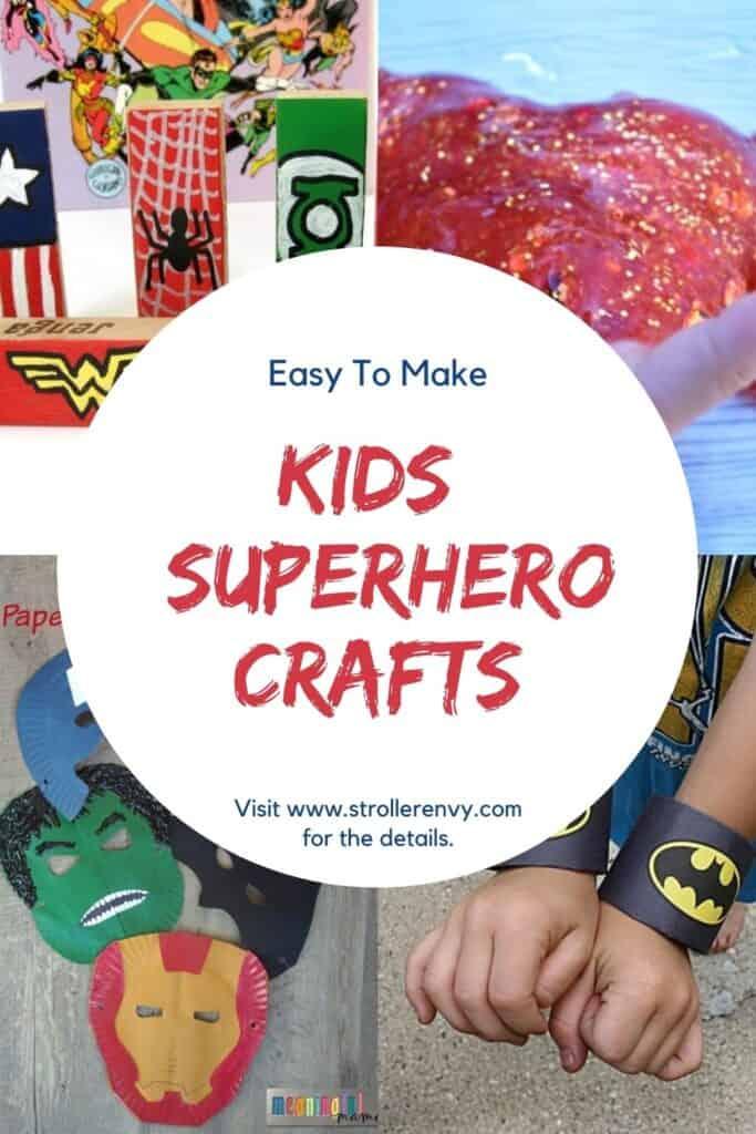 kids superhero crafts