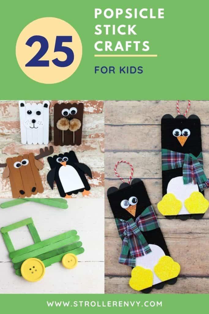 25 popsicle stick crafts for kids