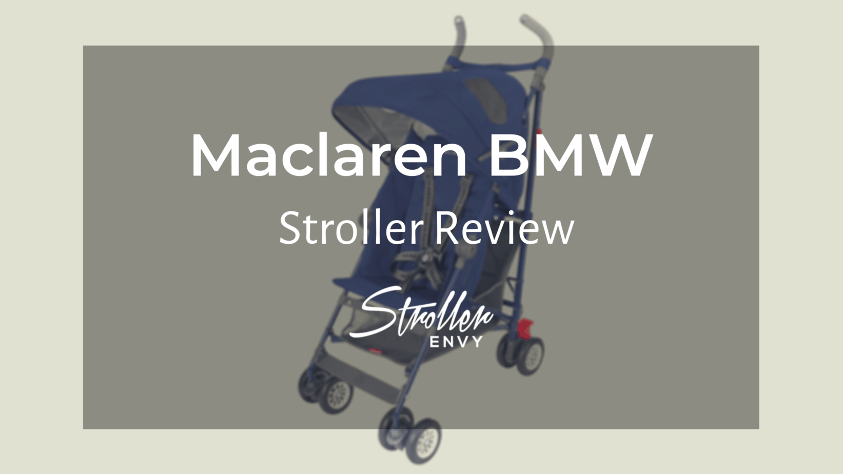 maclaren bmw stroller review