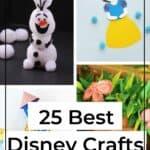 25 Easy Disney Crafts For Kids