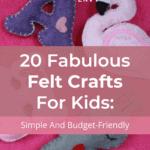 Felt Crafts For Kids