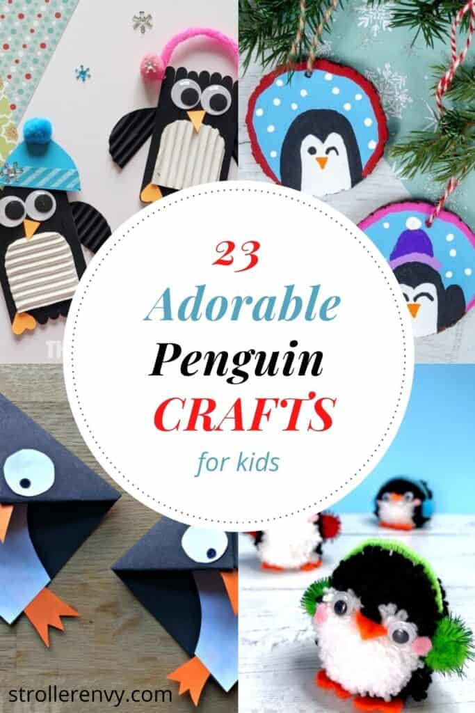 23 penguin crafts for kids