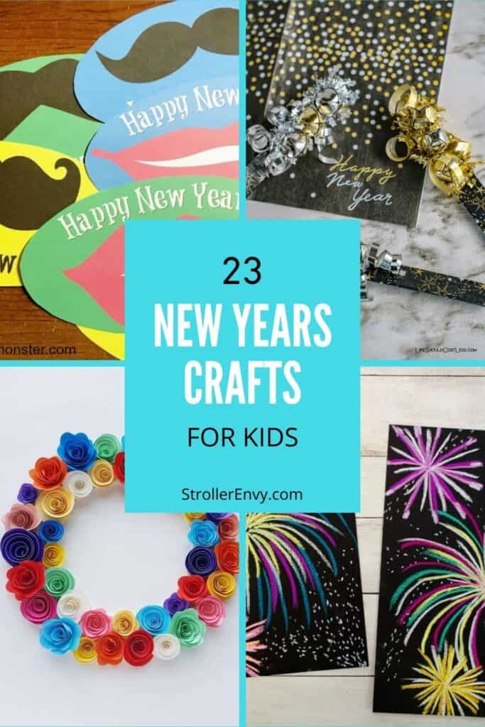 new years crafts for kids