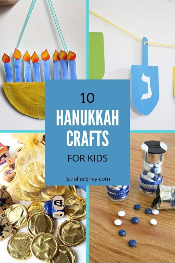10 Hanukkah crafts for kids