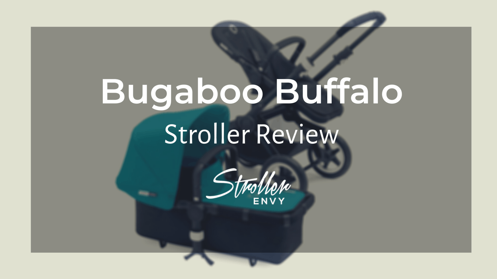 Bugaboo Buffalo Stroller Review