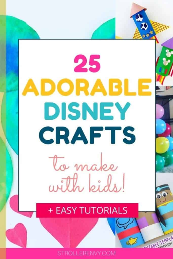 disney crafts for kids