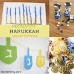 Hanukkah crafts for kids