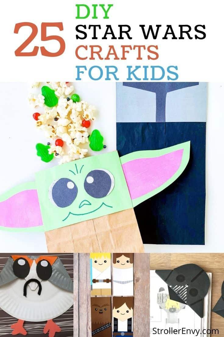 star wars kids crafts
