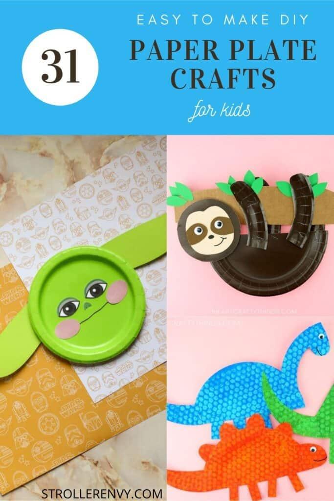 DIY paper plate crafts for kids