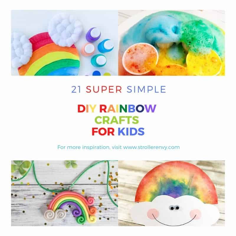 Diy Rainbow Crafts For Kids