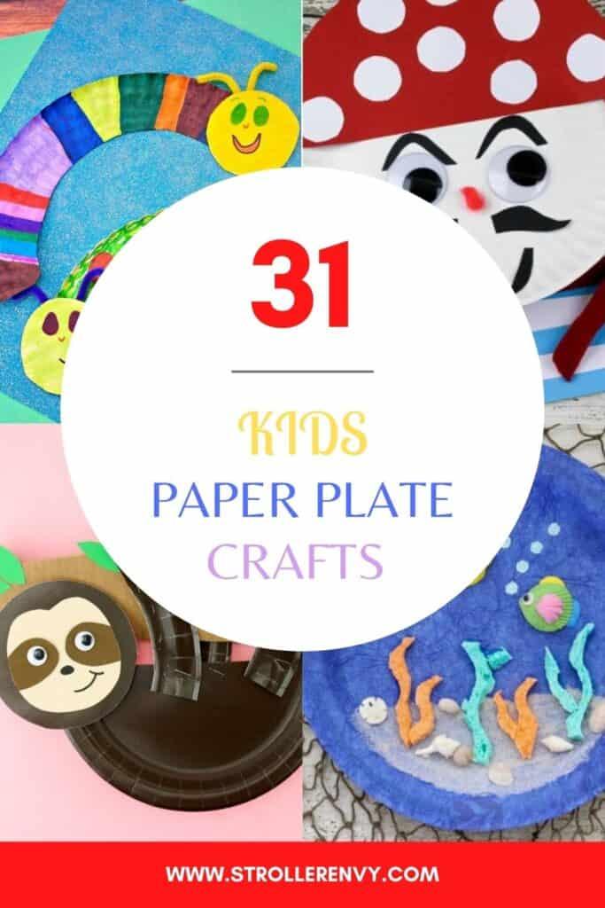 diy paper plates kids crafts