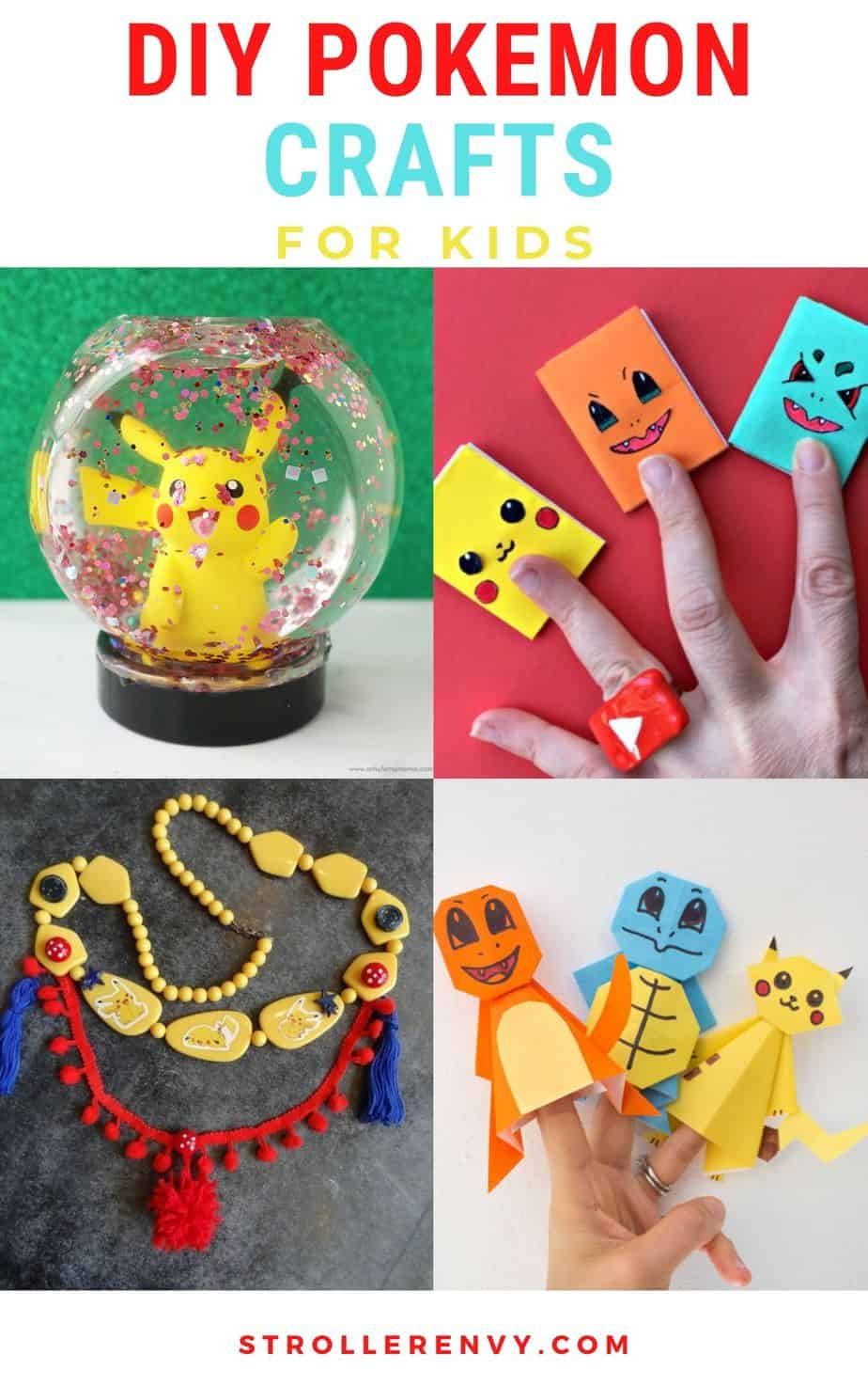 Pokemon Crafts For Kids