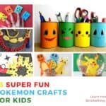 diy pokemon crafts for kids