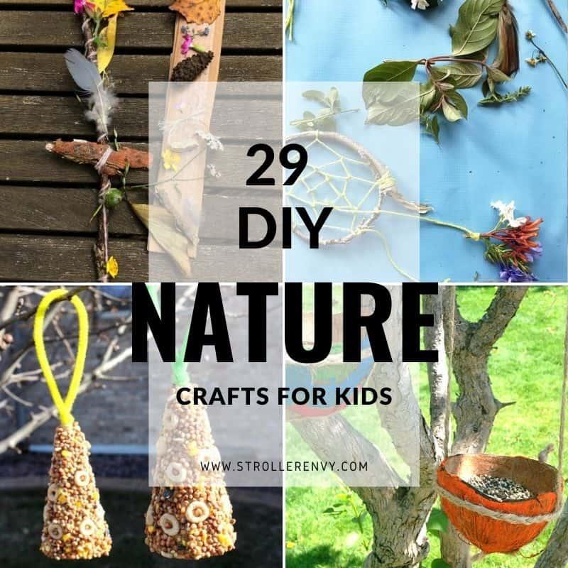 diy nature crafts for kids