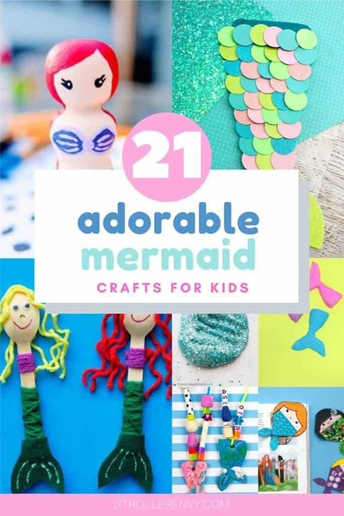 adorable mermaid crafts for kids