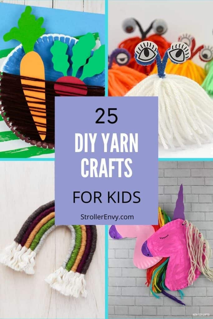 yarn crafts pin image