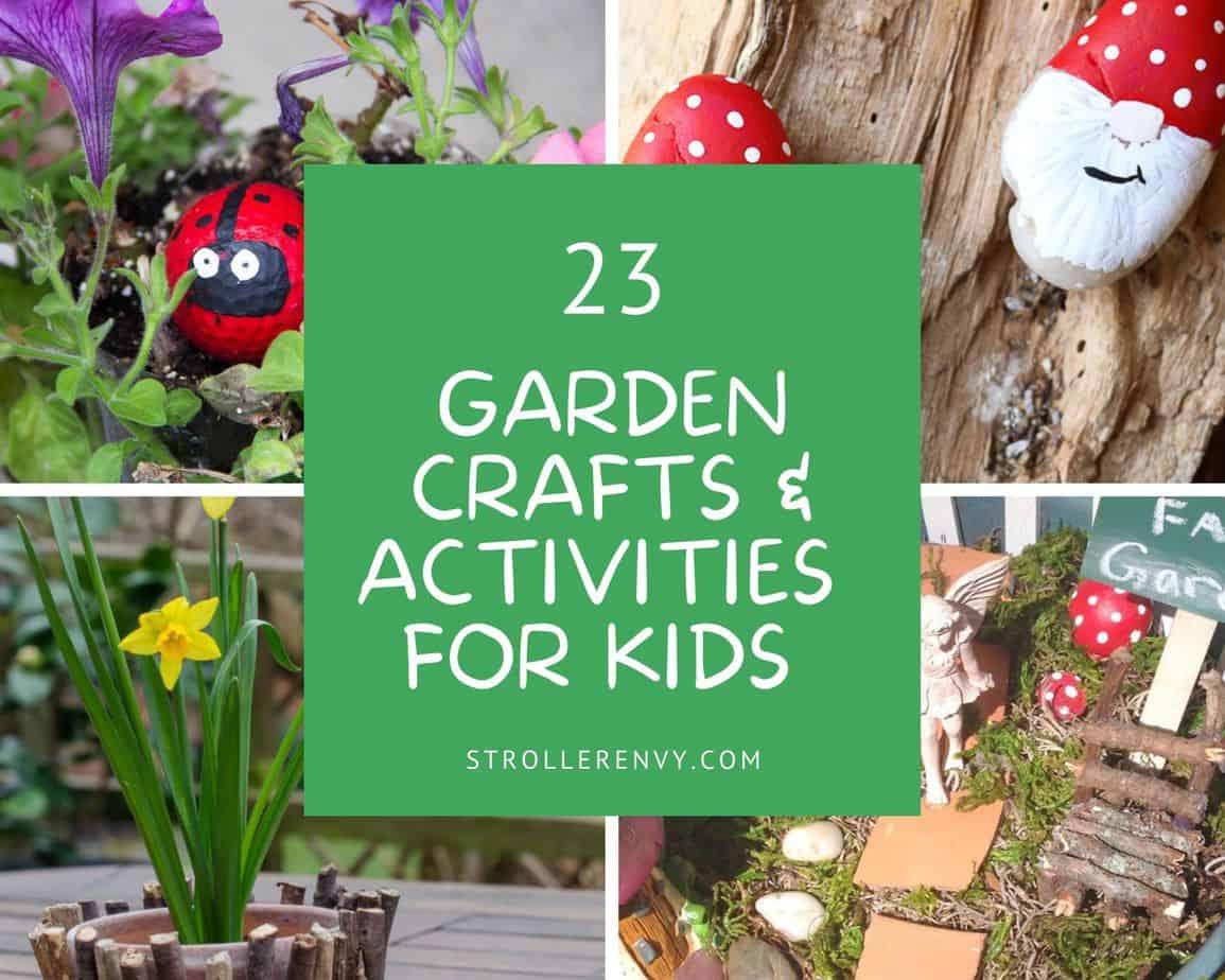 Garden Crafts For Kids