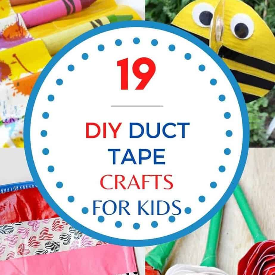 Duct Taoe Crafts For Kids