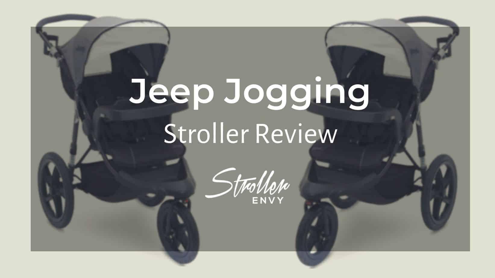 Jeep Jogging Stroller